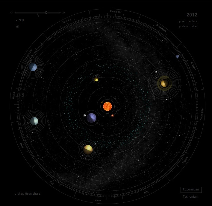 Программа Solar System Scope